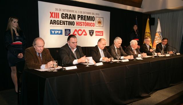 XIII Gran Premio Argentino Històrico 2015