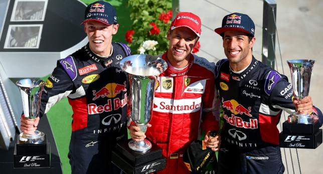 OTRO CARRERON 2 – FERRARI y VETTEL en el Fórmula 1 Pirelli MAGYAR NAGYDÍJ 2015