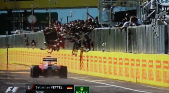 OTRO CARRERON – FERRARI y VETTEL en lo mas alto del GP de Hungria 2015