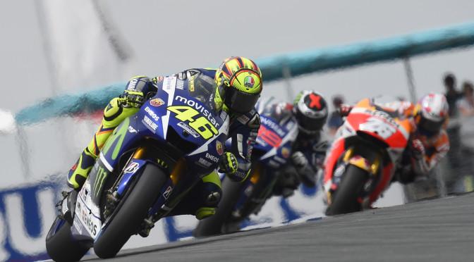 Rossi líder del Mundial tras un nuevo podio en Alemania con su Yamaha del MotoGP