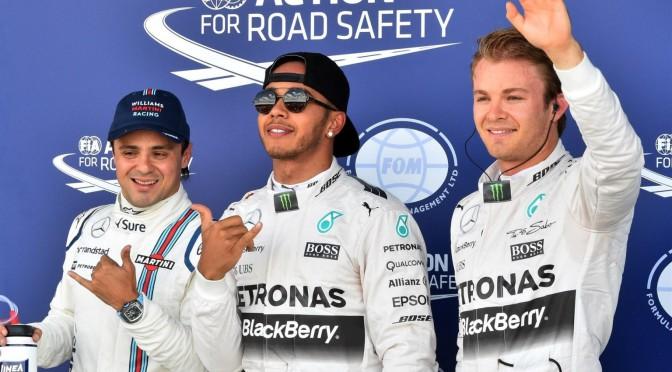 Clasificación del GP de Fórmula 1 de Gran Bretaña 2015