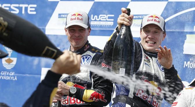JARI-MATTI LATVALA gana el rally mas rápido de la historia con el VW Polo R