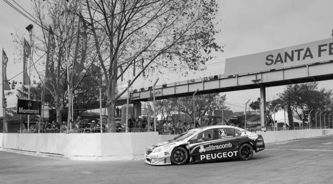 Peugeot Total Sport se lleva el 1-2 en el Callejero de Santa Fe del Super TC2000
