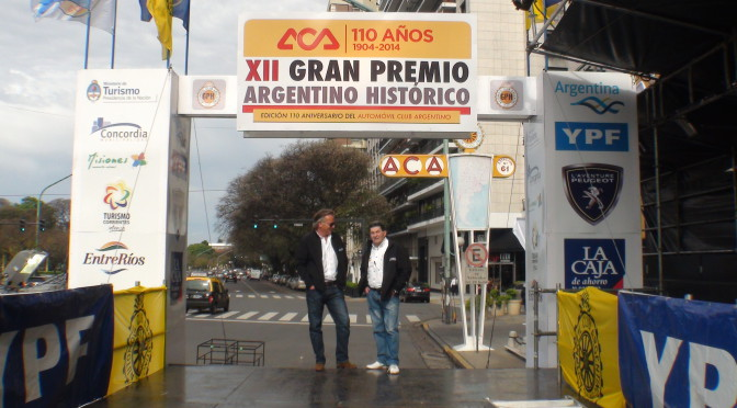XIII GRAN PREMIO ARGENTINO HISTÓRICO 2015 – Largada simbólica