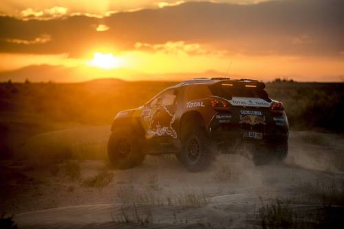 Peugeot 2008 DKR – doblete en el China Silk Road Rally