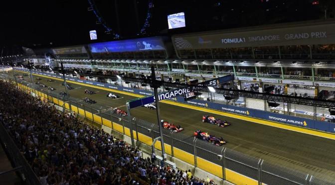 GP de SINGAPUR 2015 la clasificación