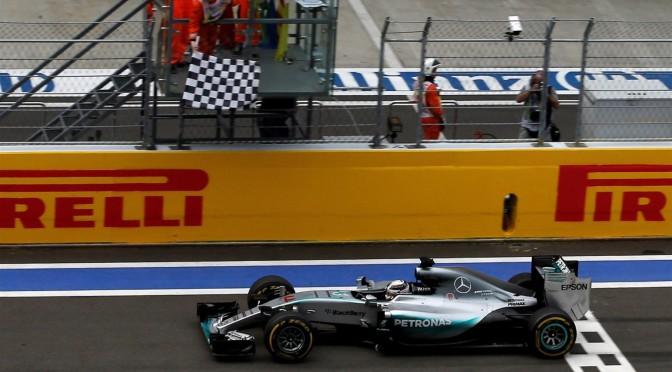 FORMULA 1 2015 | RUSIA fue para Hamilton y Mercedes