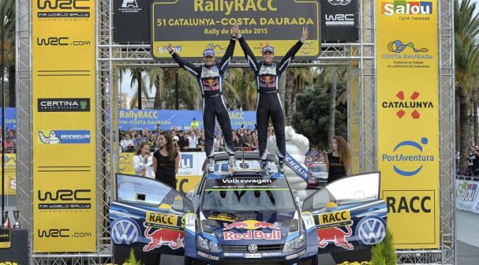WRC 2015 | Victoria final de Andreas Mikkelsen Doblete de Volkswagen en Rally de España