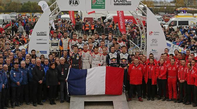 WRC | Ogier con VW se lleva Gales en un podio repartido