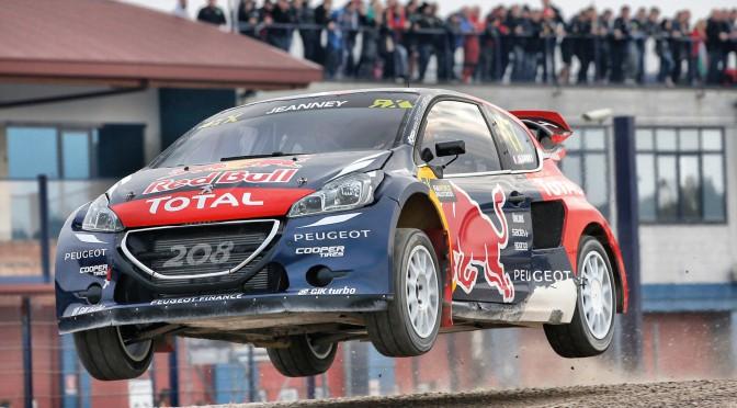 Peugeot | El equipo Hansen se aseguró el primer puesto del campeonato mundial de Rallycross