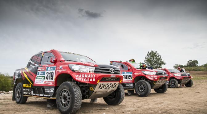 TOYOTA | vehículo oficial de la Organización del DAKAR 2016 y sus equipos