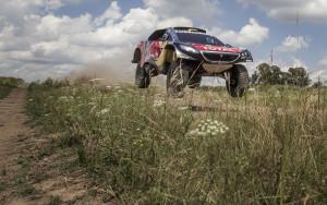 Ultimo entrenamiento del equipo Peugeot previo al Rally Dakar 2016. Foto: Gustavo Cherro/ Peugeot