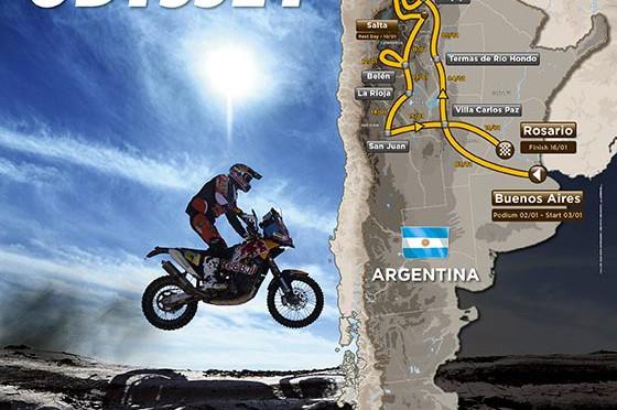 Dakar |  la ruta para el 2016