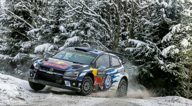 WRC | Suecia 2016 Sweden | triplete de SÉBASTIEN OGIER con el Polo R de Volkswagen Sport