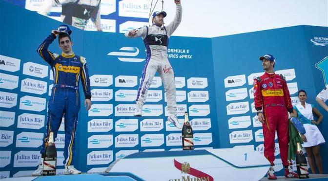 Fórmula E | Ganó Bird pero se destacó Buemi en el ePrix de Buenos Aires