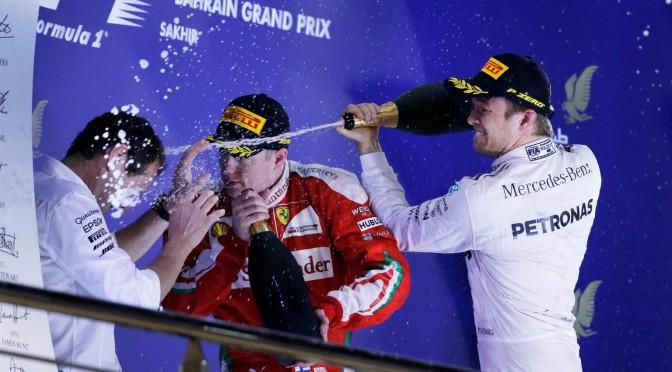 F1 | Bahréin 2016 | doblete de Mercedes Benz en el podio