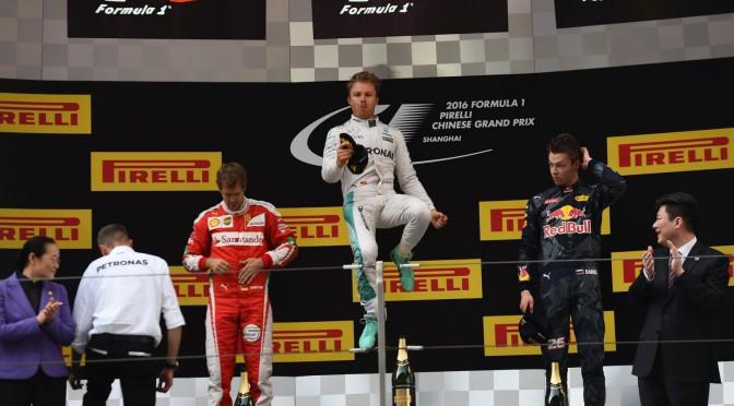 F1 | China 2016 | doblete de Mercedes Benz en el podio de SHANGHAI
