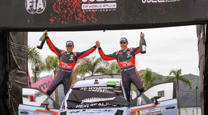 WRC | Hayden Paddon y Hyundai gana en Argentina