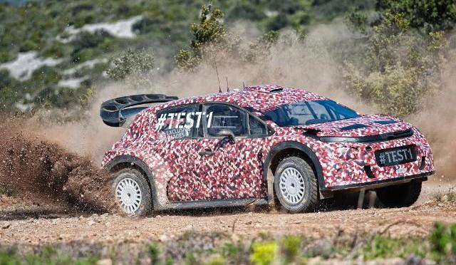 WRC | Citroën continúa el desarrollo del C3 WRC