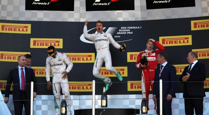 F1 | GP Rusia 2016 | Rosberg y Mercedes logran el cuarto triunfo consecutivo