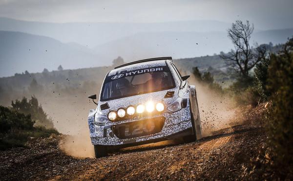 WRC | Hyundai completa tests con el i20 R5