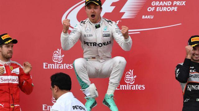 F1 | Gp de Bakú 2016 | ahora le tocó a Rosberg