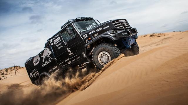 Dakar | Kamaz presentó su nuevo camión para la edición 2017
