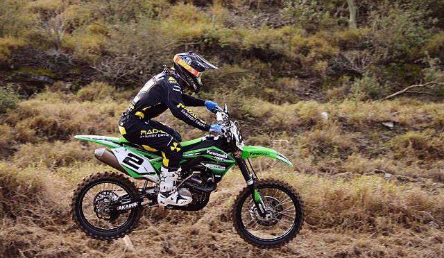 Motocross | Kawasaki | complicada actuación en Catamarca