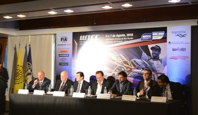 WTCC | se presentó la prueba argentina 2016