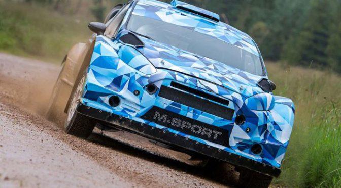 WRC | M-Sport | primer test del Fiesta WRC 2017