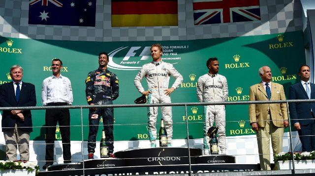 F1 | GP Bélgica 2016 | Rosberg y Mercedes ganan en Spa-Francorchamps