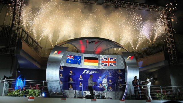 F1 | GP de Singapur | Rosberg y Mercedes el 1-3 con un final ajustado