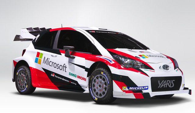WRC   Toyota   Microsoft se une al equipo para 2017