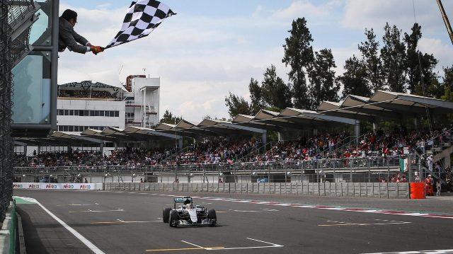 F1 | Mexico 2016 | doblete de Mercedes con Lewis y Nico