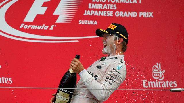 F1 | Japon 2016 | Rosberg a un paso de la gloria en Suzuka