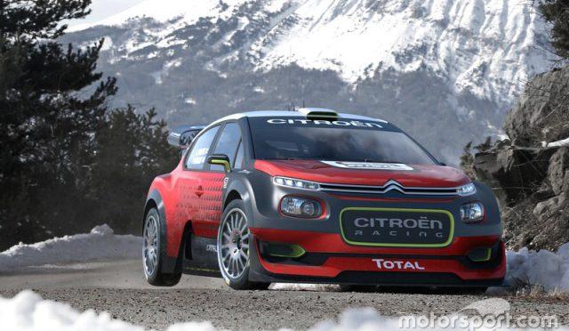 WRC | 2017 | Citroën presentó el C3