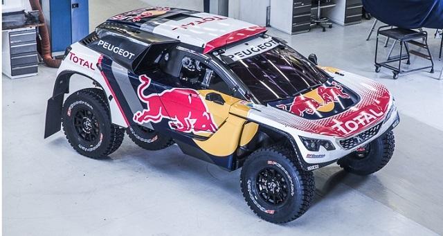 Dakar | 2017 | Peugeot presentó su nueva decoración en el 3008 DKR