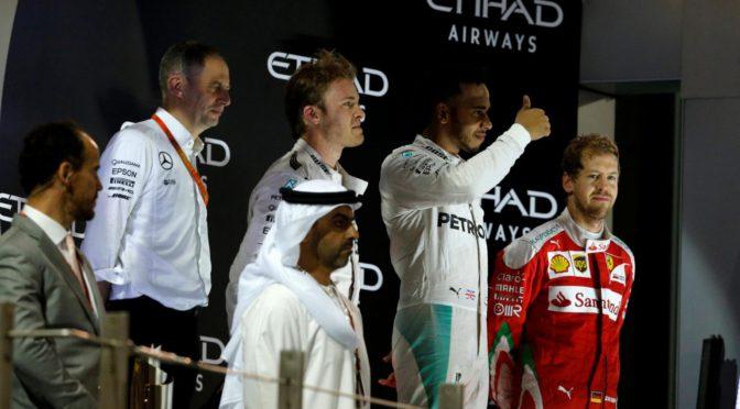 F1 | Abu Dhabi 2016 | Rosberg campeón en doblete de Mercedes