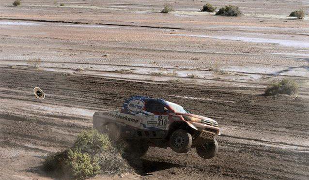 Etapa 8 | Dakar 2017 | Barreda y Loeb lo destacado