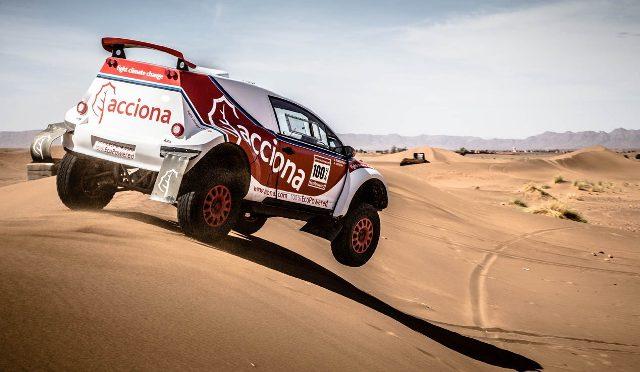 Acciona | Dakar 2017 | el eléctrico que entró en la historia del rally raid