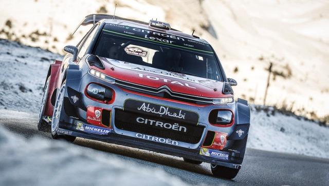 WRC | Monte Carlo 2017 | Citroën se consoló ganando solo una etapa