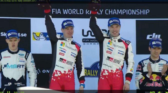 WRC | Suecia 2017 | Latvala y Toyota en lo mas alto