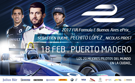 FE | Buenos Aires 2017 | Ya se vive la Formula E en Buenos Aires
