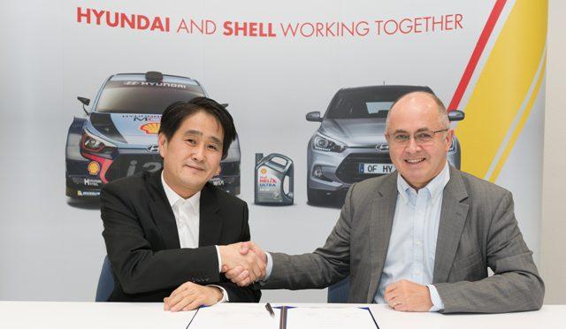 WRC | Acuerdo | Shell Lubricantes / Hyundai Motorsports | asociación técnica