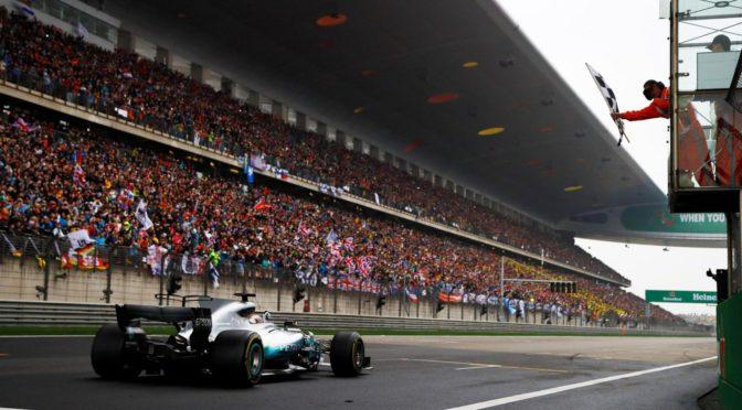 F1 | Shangai 2017 | Hamilton en lo mas alto del GP chino