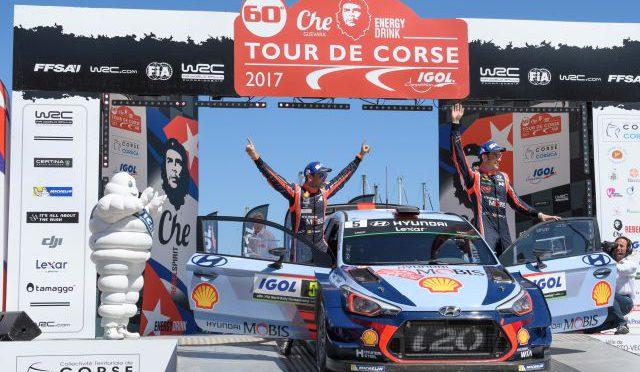 WRC | Córcega 2017 | Thierry Neuville puso a Hyundai en lo mas alto del rally francés