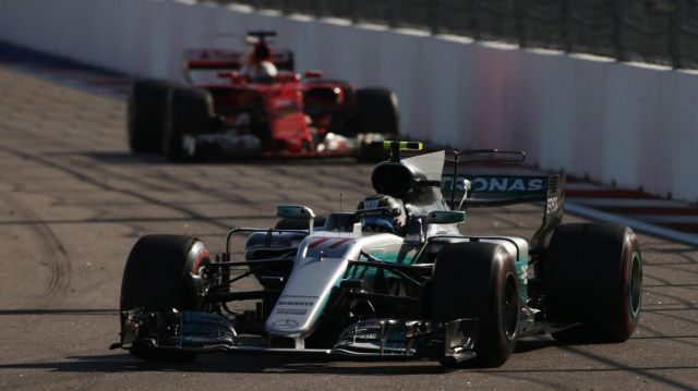 F1 | Rusia 2017 | Bottas primero en todo con Mercedes