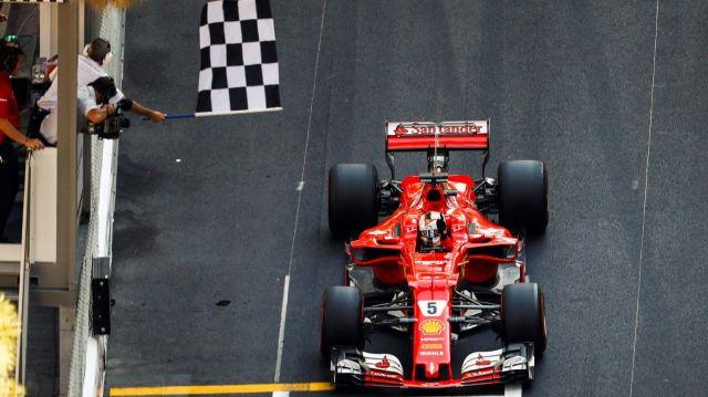 F1 | Monaco 2017 | 1-2 de Ferrari con Vettel a la cabeza
