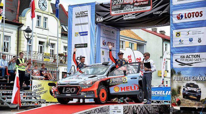 WRC | Polonia 2017 | doblete de Hyundai con THIERRY NEUVILLE a la cabeza