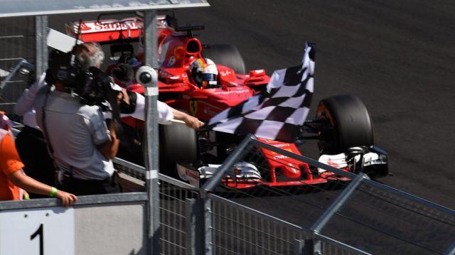 F1 | Hungría 2017 | Doblete de Ferrari con Vettel a la cabeza
